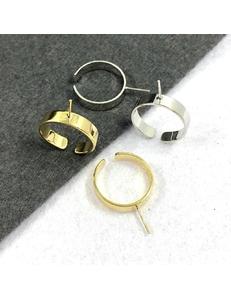 Кольца, для полупросверленных бусин