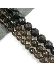 Бусины Раухтопаз, граненый, 14мм, коричневый