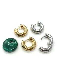 Серьги-кольца, 22*5 мм, нержавейка