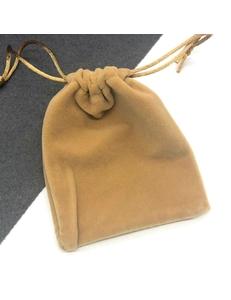 Бархатный мешок, карамельный, 10*12cм