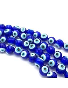 Бусины Глаз, стекло, 8 мм, штука