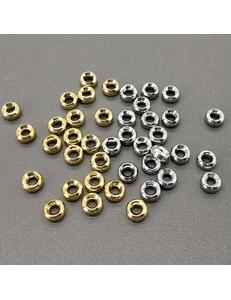 Разделители-спейсеры, 2*4 мм, позолота, родий