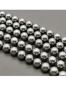 Бусина жемчуг Swarovski Grey, 10 мм