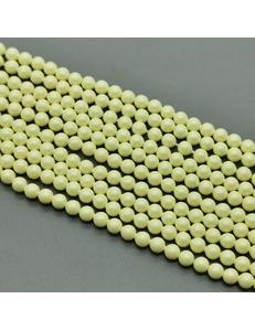 Бусина жемчуг Swarovski Pastel Yellow, 6 мм