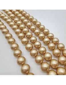 Бусина жемчуг Swarovski Vintage Gold, 4 мм