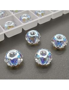 Бусина Рондели Swarovski Crystal Shimmer, 8 мм