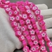 Бусины цветок фуксия, силикон, 9,5 мм, шт