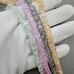 Бусина Сахарный кварц, квадрат, колерованный, 6.5 мм