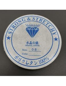 Резинка-эластичная нить, 0,6 мм