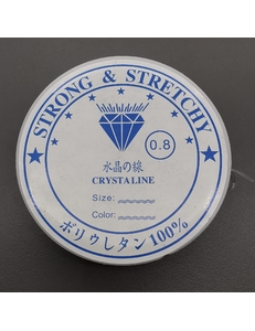 Резинка-эластичная нить, 0,8 мм