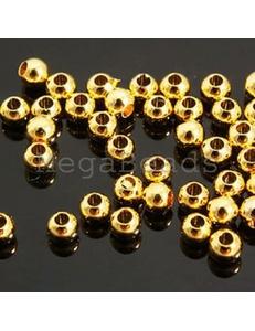 Шарики-разделители, 2,5 мм, золото